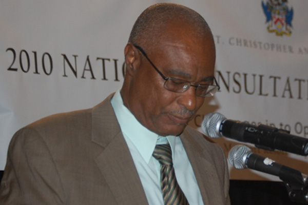 Former Nevis Premier supports initiatives to reduce the national debt, says there is no alternative to the land for debt deal