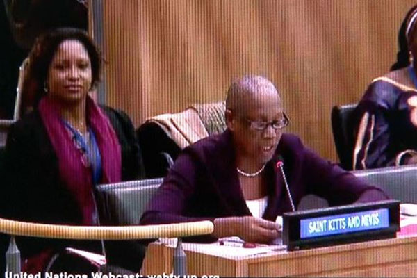 St. Kitts and Nevis' Liburd says Federation understands importance of the stability and advancement of families and communities