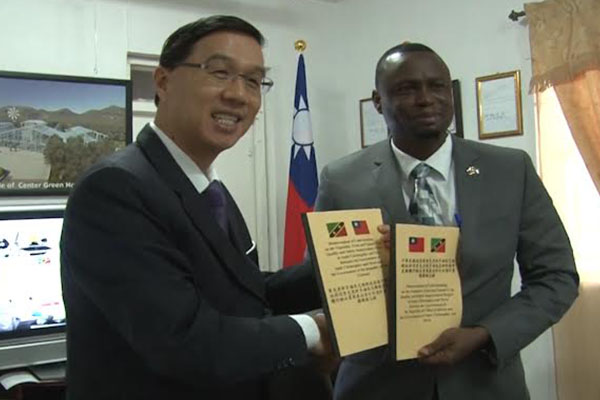 Minister Carty commends Taiwan on support for local agriculture