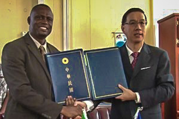 Taiwanese Disburse Funds for Crop Improvement