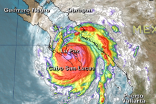 Hurricane Odile weakens, but torrential rains expected