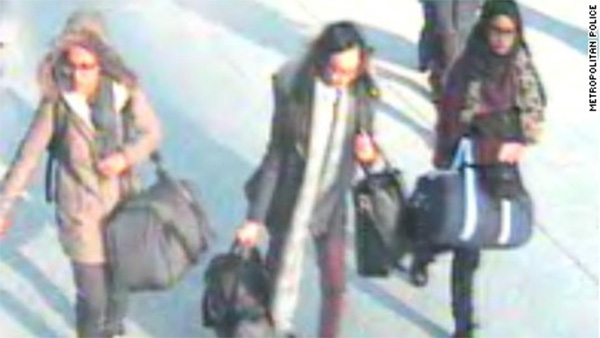 Turkey blames UK for missing girls suspected of trying to join ISIS
