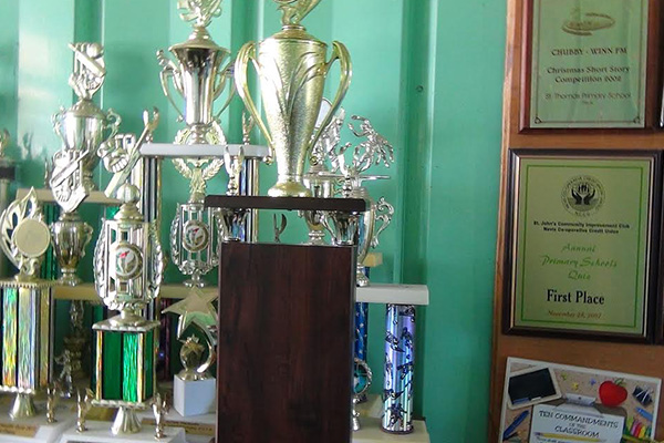 Interprimary Trophy Gets To St.Thomas' Primary