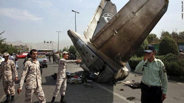 Reports: At least 39 die in passenger plane crash in Tehran