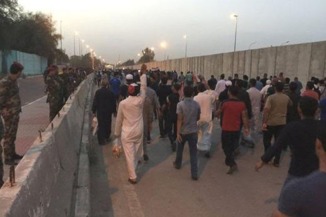 Iraq protests: Demonstrators begin to leave Green Zone