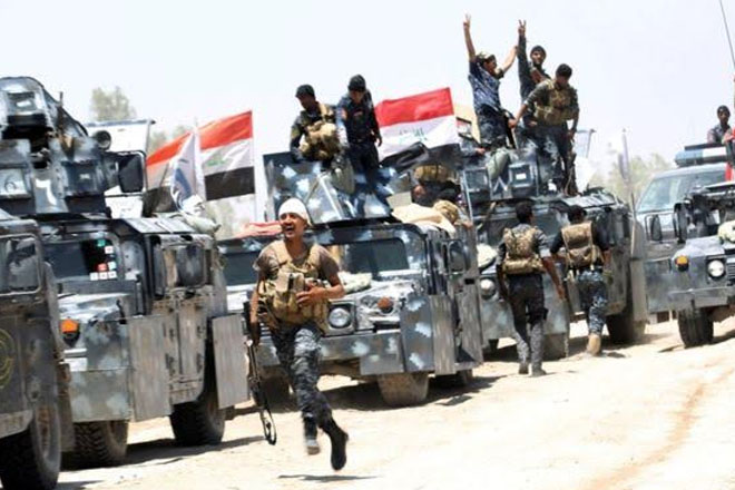 Islamic State group hits back as Iraqi army moves into Falluja