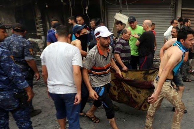 Iraq mourns victims of Baghdad suicide bombing