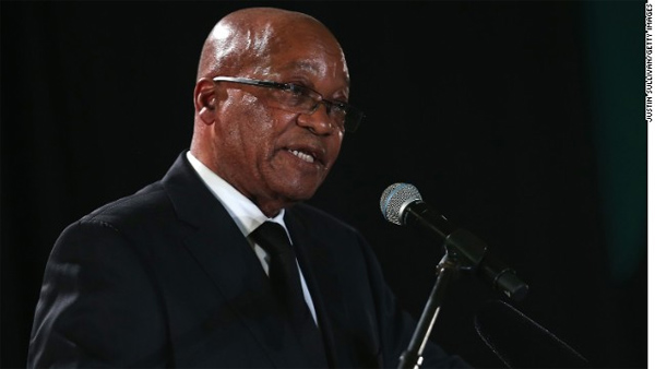 South African President Jacob Zuma discharged from hospital