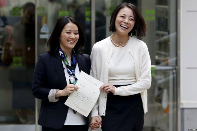 Japan same-sex couples recognised in two Tokyo districts