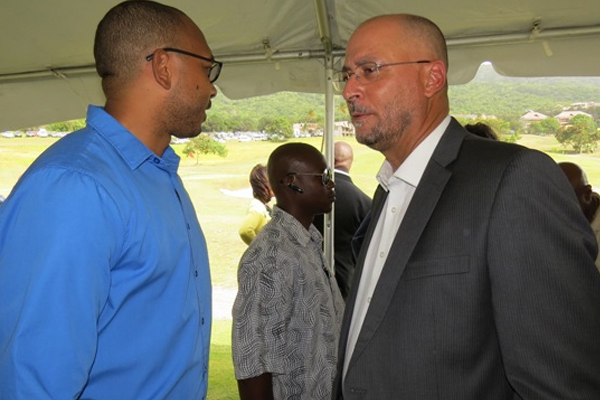 Minister Skerritt says opposition politicians still critical of Kittitian Hill