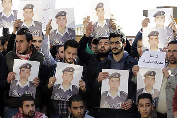 Pilot murder boosts Jordan support for IS fight