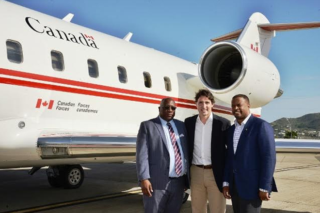 Canadian Prime Minister wraps up Vacation in SKN