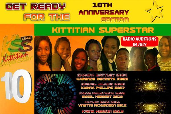 Plans Progressing for the Hosting of the 10th Annual ZIZ LIME Kittitian Superstar