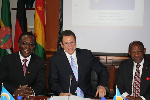 PM Douglas chairs special meeting of CDB in Barbados