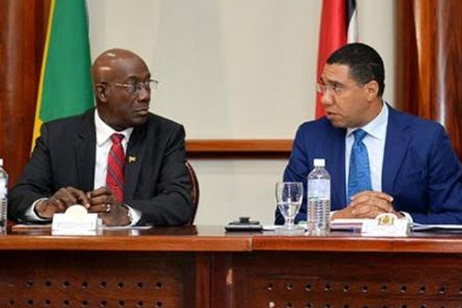 Jamaica and Trinidad PMs meet to discuss critical issues