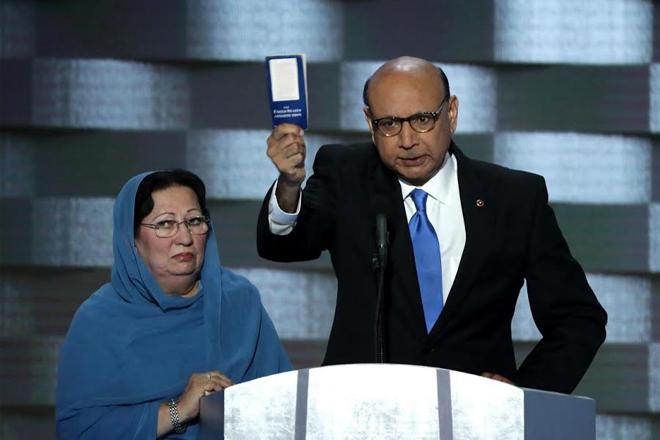 John McCain condemns Donald Trump over row with Khan family