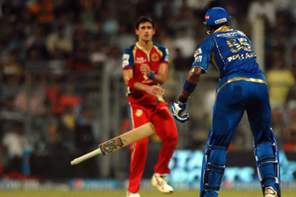 Pollard, Starc fined for altercation