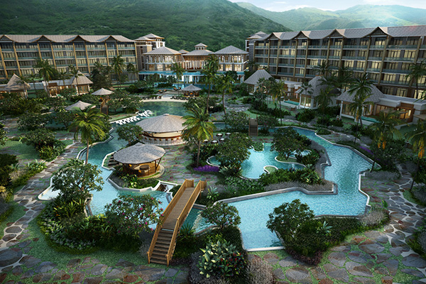 Piling begins for first phase of Koi Resort & Residences, 80 units to be completed for opening in December 2015