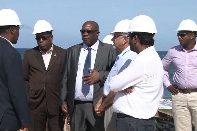 Government Officials Visit Koi Resort Site