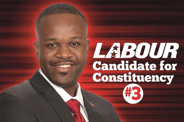 Maynard Already Working in Constituency Three