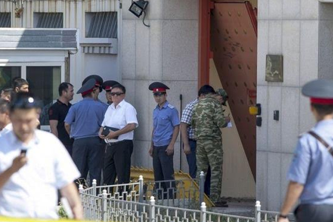 Chinese embassy blast: Car bomb attack in Bishkek, Kyrgyzstan