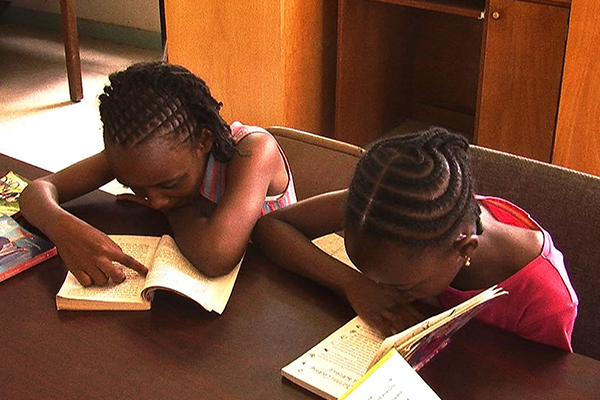 Charles a. Halbert library hosts Read- A-Thon