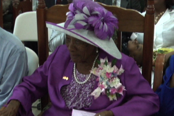 Mother Isaac Celebrates Her 100th Birthday