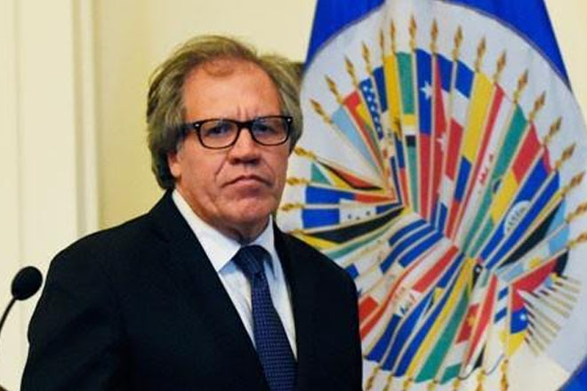 OAS chief calls Venezuela president a petty dictator, traitor and liar