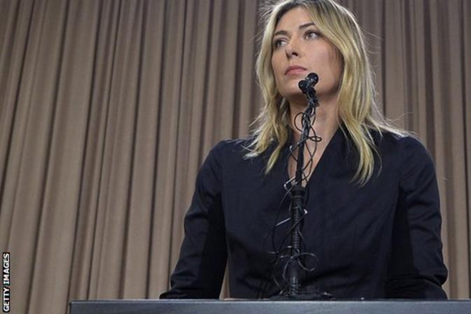 Maria Sharapova drugs ban reduced from two years to 15 months on appeal
