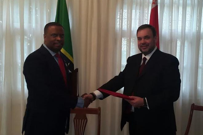 St. Kitts and Nevis establishes diplomatic relations with the Republic of Belarus