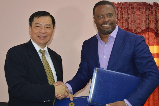 St. Kitts and Nevis and the ROC (Taiwan) strengthen diplomatic ties with bilateral cooperation agreement