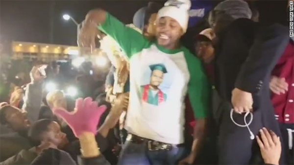 Police investigating if Michael Brown's stepfather intended to incite riot