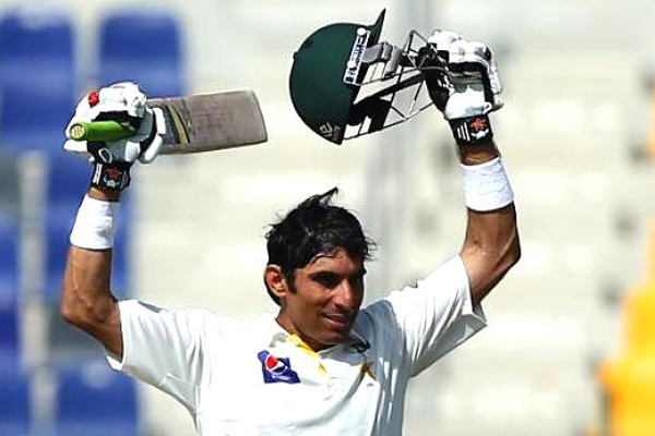 'I was just trying to hit every ball' – Misbah