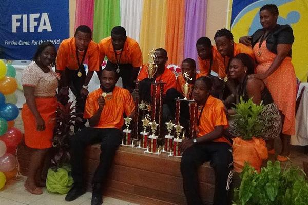 Nevis Football Association hosts Awards Ceremony