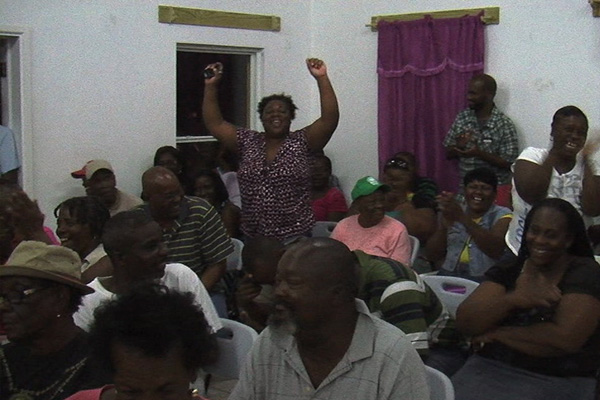 NRP Townhall meeting sees Huge Turnout