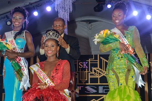 NATIONAL CARNIVAL QUEEN 2013 – 2014 with a total of 487 points is Miss LIME, Kaeve Armstrong