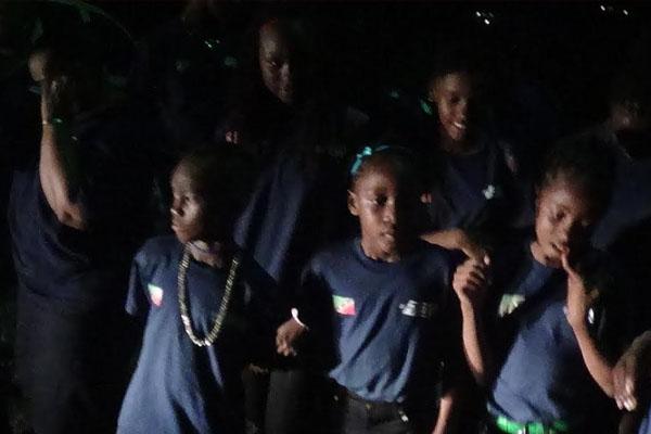 Nevis CUT Team returns home