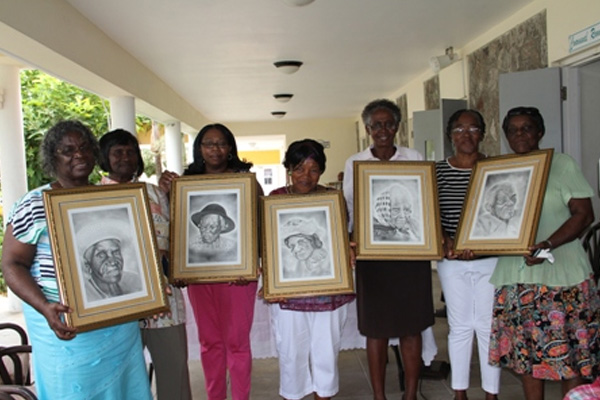Five of Nevis' eldest residents recognised as part of the activities for International Month of Older Persons