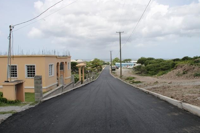 Lower Farms/ Bath Plain has new roadway; Area Representative Brantley pleased with works