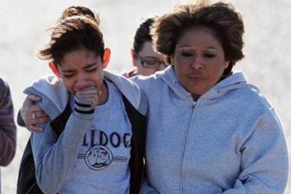 12-year-old boy opens fire at New Mexico school, shoots two