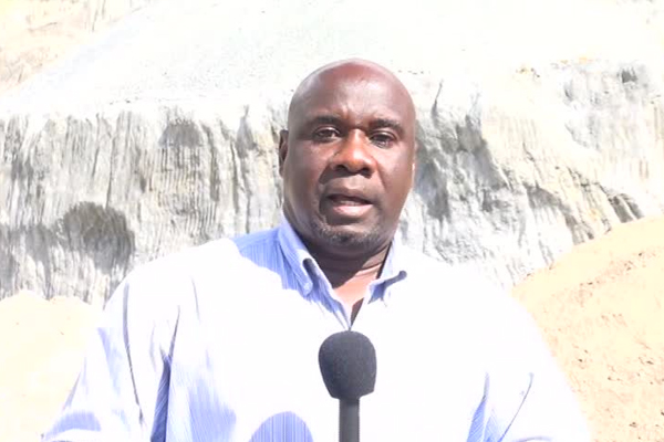 Vandalism at Nevis Administration New River Quarry will not deter work