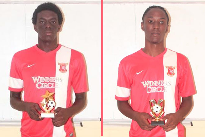 Winners Circle Newtown United Awards Top Players