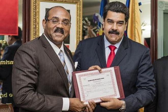 Antigua-Barbuda PM Announces New Economic Paradigm for Cooperation with Venezuela