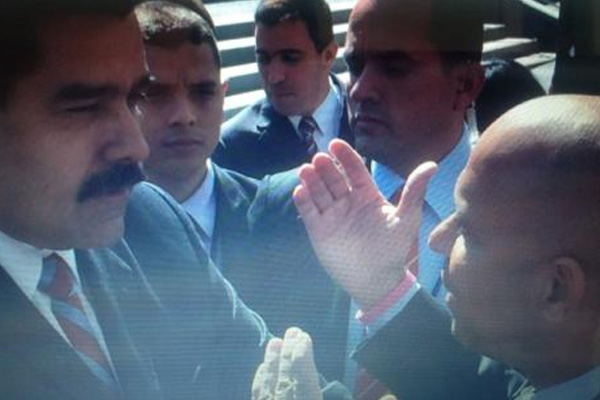 Haitian PM and Venezuelan president meet briefly on bilateral cooperation