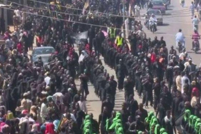 Nigerian Shia Muslims protest over military crackdown