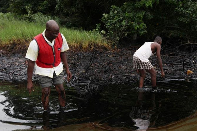 Shell accused of lying over Nigeria oil spill clean-up