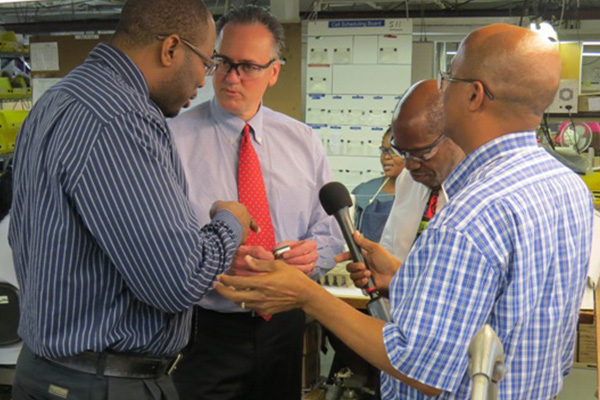 Dr. Norgen Wilson welcomes expansion at Harowe Servo