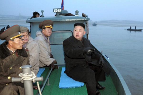 North Korea launches missiles into sea