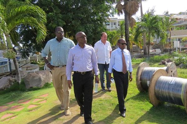 PM Douglas tours SIDF-funded renovation of OTI
