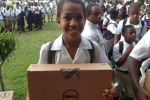 New Dell laptops distributed to high schools